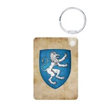 Lion Rampant Sinister Keychains