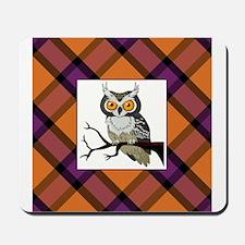 SPOOKY OWL Mousepad