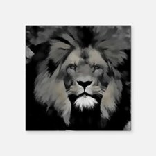 """Isaac of the Jungle Square Sticker 3"""" x 3"""""""