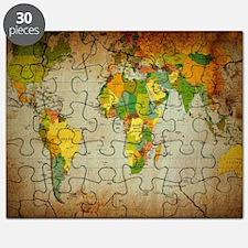 World Map V Puzzle