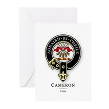 Clan Cameron Greeting Cards (Pk of 10)