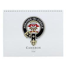 Clan Cameron Wall Calendar
