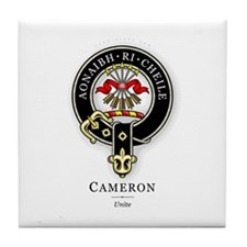 Clan Cameron Tile Coaster