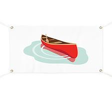 Canoe on Water Banner