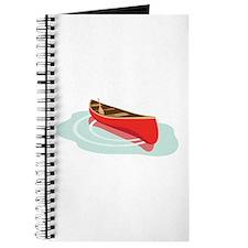 Canoe on Water Journal