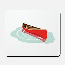Canoe on Water Mousepad