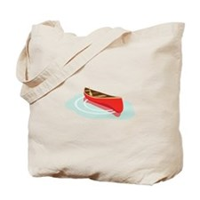 Canoe on Water Tote Bag