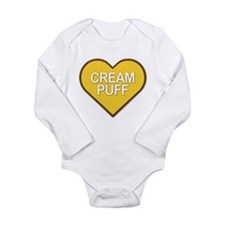 Cream Puff Long Sleeve Infant Bodysuit