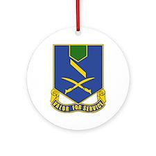 DUI - 137th Infantry Regiment Ornament (Round)