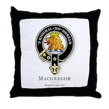 Clan MacGregor Throw Pillow
