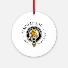 Clan MacGregor Ornament (Round)