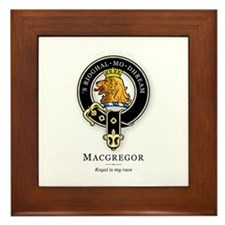 Clan MacGregor Framed Tile
