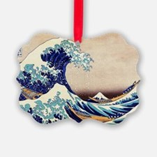 Great Wave Off Kanagawa Ornament