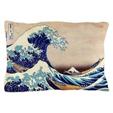 Great Wave Off Kanagawa Pillow Case