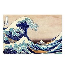Great Wave Off Kanagawa Postcards (Package of 8)