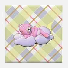 SLEEPYTIME BEAR Tile Coaster