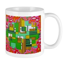 Rounded Rectangles Mugs