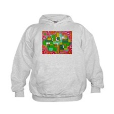 Rounded Rectangles Hoodie