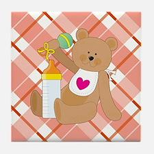 BABY BEAR Tile Coaster