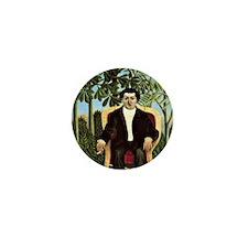 Rousseau - Portrait of Joseph Brummer Mini Button