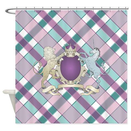 Royal Crest Shower Curtain By Supercutestuff