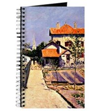 Caillebotte - The Artist's House at Yerres Journal