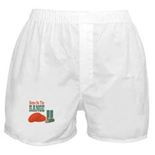 Home On The Range Boxer Shorts