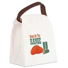 Home On The Range Canvas Lunch Bag