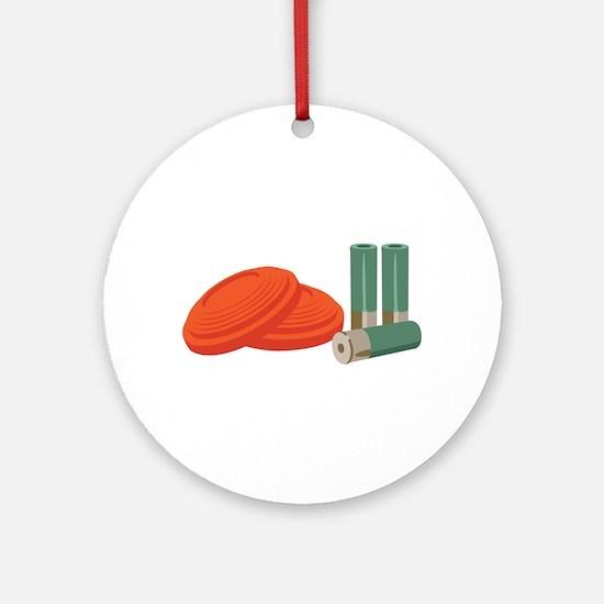 Clays Shells Ornament (Round)