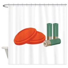 Clays Shells Shower Curtain