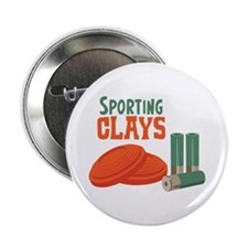 """Sporting Clays 2.25"""" Button"""
