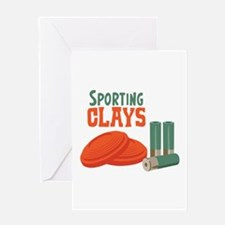 Sporting Clays Greeting Cards
