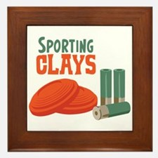 Sporting Clays Framed Tile