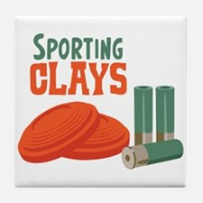 Sporting Clays Tile Coaster