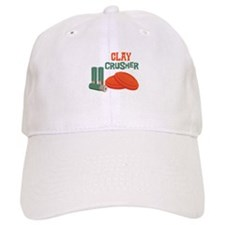 Clay Crusher Baseball Baseball Cap