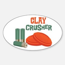 Clay Crusher Stickers