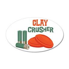 Clay Crusher Wall Decal