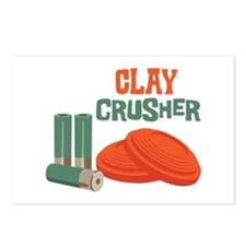 Clay Crusher Postcards (Package of 8)