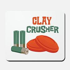 Clay Crusher Mousepad