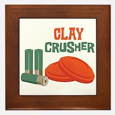 Clay Crusher Framed Tile