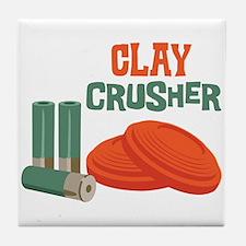 Clay Crusher Tile Coaster