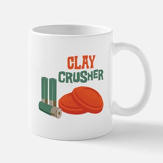 Clay Crusher Mugs