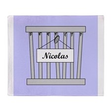 nicolas cage Throw Blanket