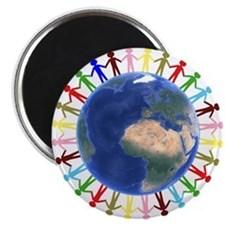 One Earth - One People Magnets