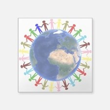One Earth - One People Sticker