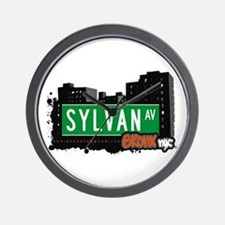 Sylvan Av, Bronx, NYC  Wall Clock