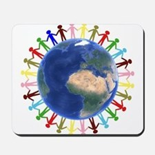 One Earth - One People Mousepad