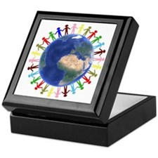 One Earth - One People Keepsake Box