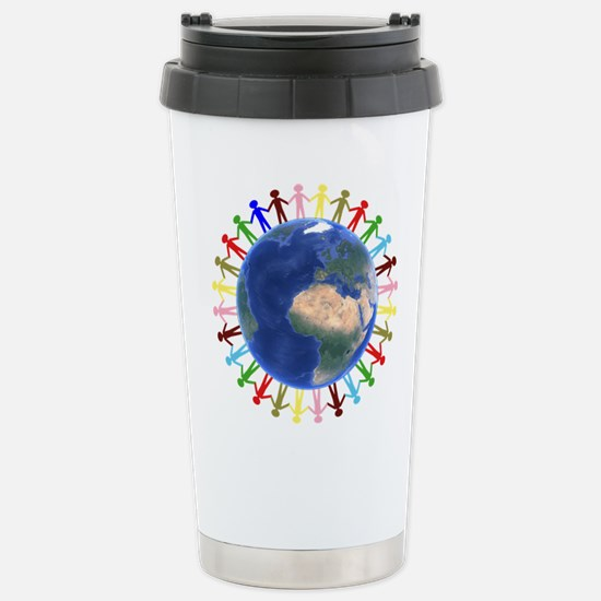 One Earth - One People Travel Mug