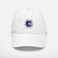 One Earth - One People Baseball Baseball Baseball Cap